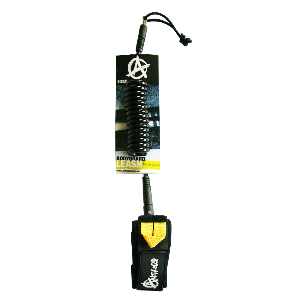 bicep leash body board